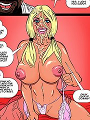 His cock is perfect - 2 hot blondes submit to bbc by Pegasus