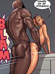 I'm cumming on your dick - Art class 2