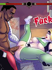 Oh wow that feels good - Interracial cartoon porn: Street fighter, Cammy, fucktality, Sonya, Jax by Michi