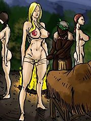 Filled me with black cock - Adoption of my daughters and I into the tribe by Illustrated interracial