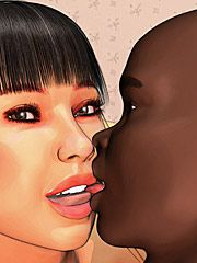 I want that big black dick so much - Xxx wife the star of adult movies by Interracial comics