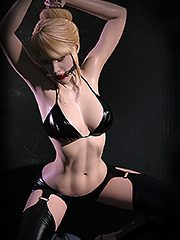 Dat's right slut, no teeth - Bondage 3D by Dark Lord