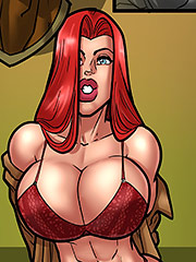 So big and fat already - Derek Hammer, Crimson Dahlia by Rabies