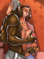Shove it deep - The wife and the black gardeners 3 by Kaos comics