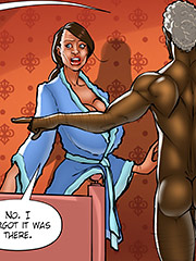 I don't even do that for my husband - The wife and the black gardeners 3 by Kaos comics