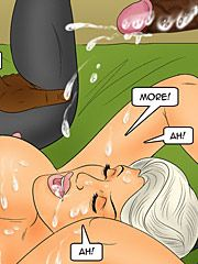 Swallow it all and clean that bbc - Three days in chicago by Interracial comics