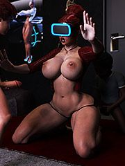 Now come over here and fuck me - VR Blackmail by 3D Collection