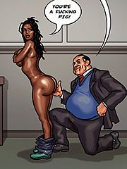 I want to fuck you doggy style - The mayor 2 by Black n White comics