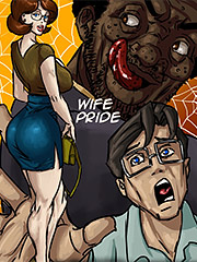 My beautiful wife is heading out to have sex with my boss - Wife pride by Illustrated interracial