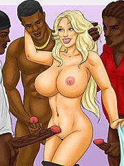 I feel like a total slut - The teacher by Interracial comics
