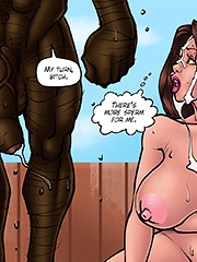 There's more sperm for me - Doctor bitch part 3 by Kaos comics