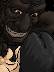 Darkbull scowled and bitch smacked her face - Farm girl by Illustrated interracial