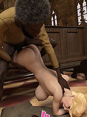 I wanna fuck these sweet white tittays - Catherine and Isaiah by Dark Lord