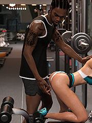 Personal sex trainer - Hard work fitness by Dark Lord