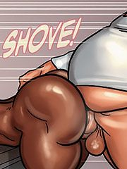 This white dick got me creaming on it - The mayor 2 by Black n White comics