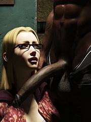 Big black dick - Elise basement by Dark Lord