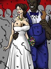 You feel so good on my body - Horny mother 2 The sequel by Illustrated interracial