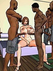 I love being fucked by black cock - Teen dream by Interracial comics