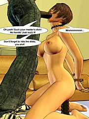 Take it up your tight ass, you whore - My black master by Interracial comics