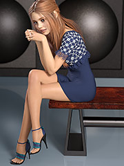 My balls are heavy like coconuts - Pinups 3D by Dark Lord