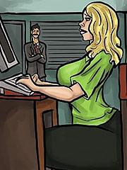 Selina was shocked - Enough Is Enough (The Job) by Duke's Hardcore Honeys