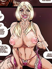 I swallowed so much of his cum - Two hot blondes submit by Pegasus